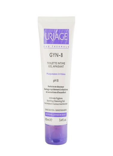 Uriage URIAGE Gyn-8 Gel Apaisant Hygiene Intime Cleansing Gel 100 ml Renksiz